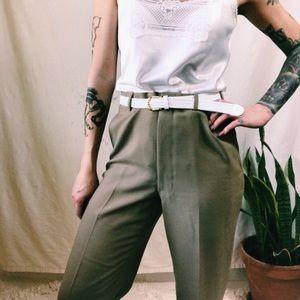 Vintage menswear trousers 1960s-1970s